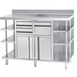 MUEBLE CAFETERO INFRICO MOD: MACAF-1500